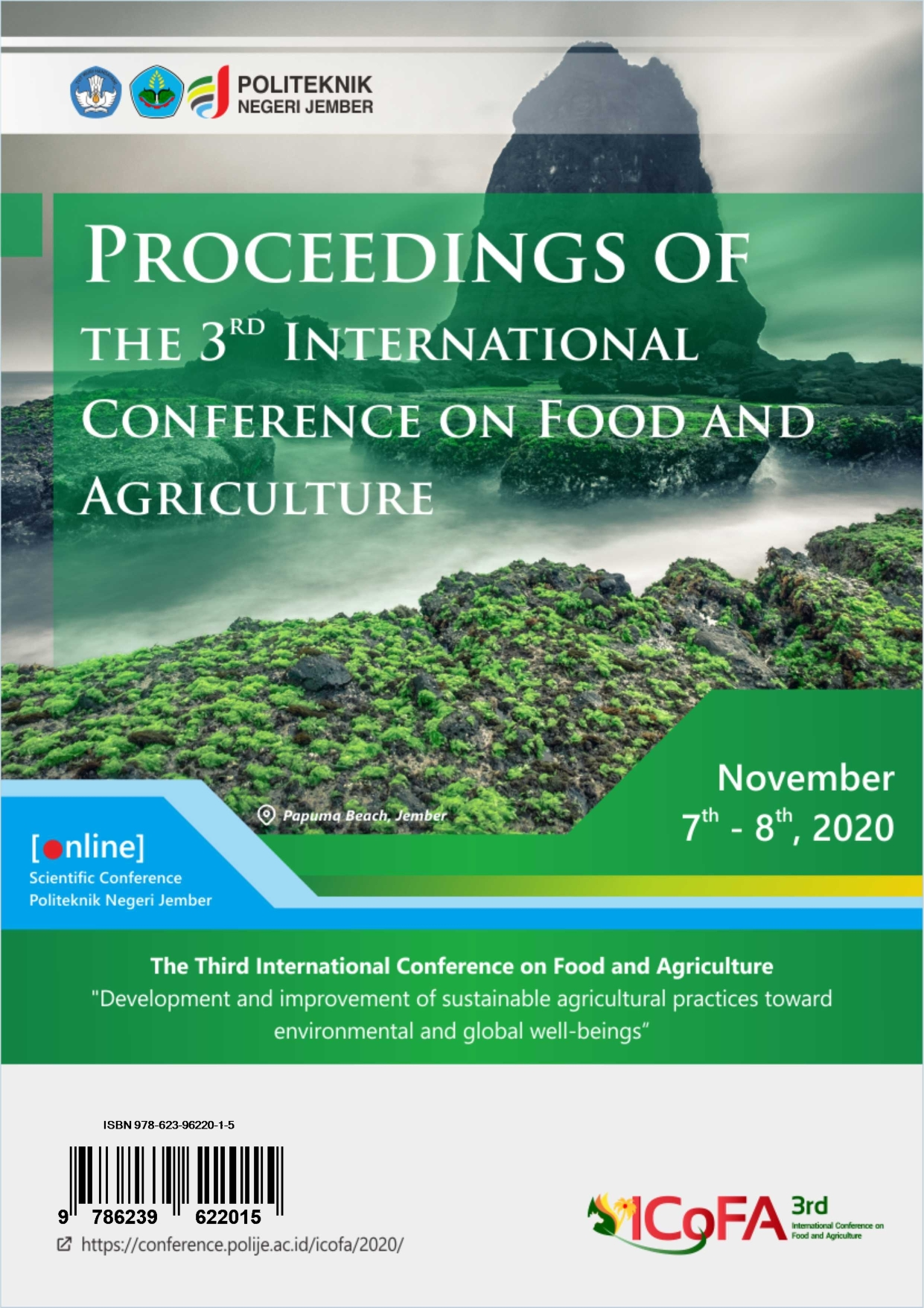 View Vol. 3 No. 1 (2021): Proceedings of The 3rd International Conference on Food and Agriculture